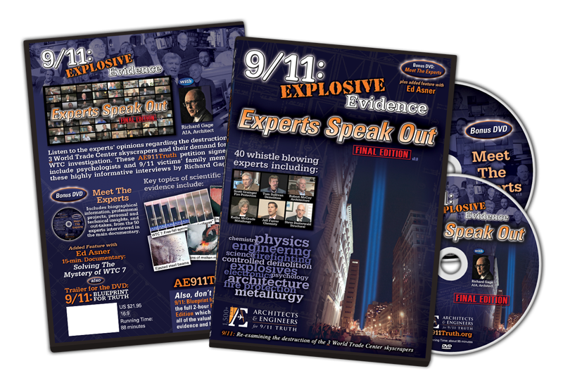 9-11 Experts Speak Out DVD